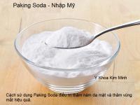 Paking Soda nhập Mỹ chữa nám và thâm vùng mắt