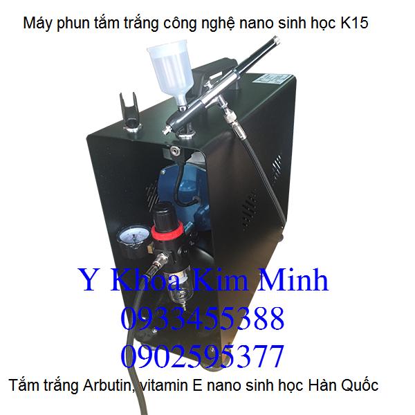 Máy tắm trắng sinh học K15 Hàn Quốc