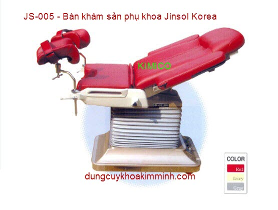 BÀN KHÁM SẢN PHỤ KHOA JS-005