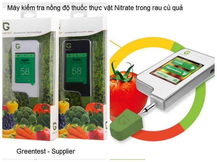Máy kiểm tra nồng độ Nitrate rau củ quả Greentest