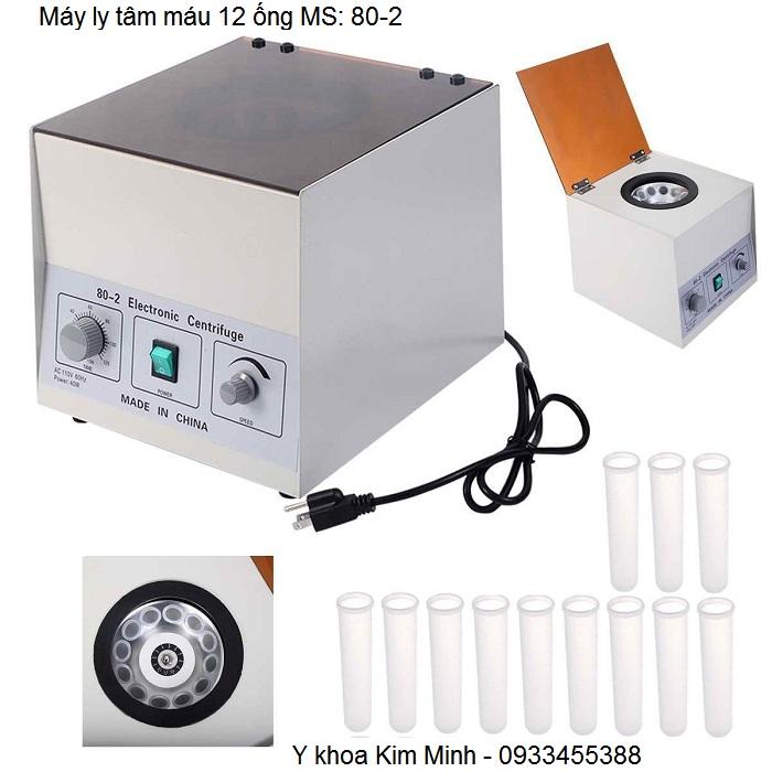 Máy ly tâm máu 12 ống 80-2