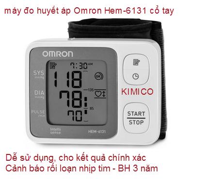MÁY ĐO HUYẾT ÁP OMRON HEM-6131
