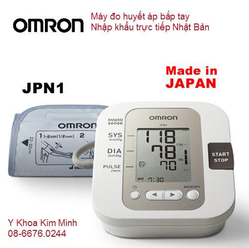 MÁY HUYẾT ÁP OMRON NHẬT JPN1