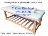 Giường châm cứu gỗ thông vân trần GC-01