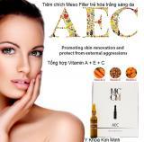 Tiêm Meso Filler trẻ hóa trắng sáng Vitamin AEC