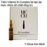 Tiêm Vitamin B-Complex tái tạo da mụn nhờn