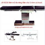 BÀN MỔ ĐA NĂNG ĐIỆN JS-002S CÓ TRƯỢT