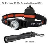 Bộ đèn khám bác sĩ đội đầu Combo Led Lenser H7.2