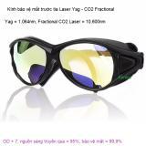 Kính laser Yag - CO2 bảo vệ mắt 1064nm, 10.600nm